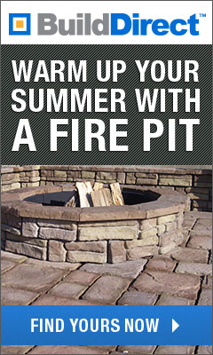 Warm up your summer with a fire pit.