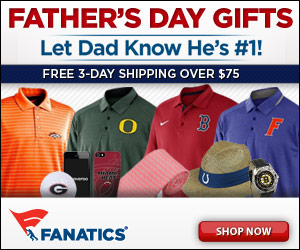 Shop for Father's Day Gifts for Sports Fans at Fanatics.com