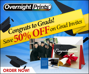 Save 50% on Graduation Announcement - Congrats to
