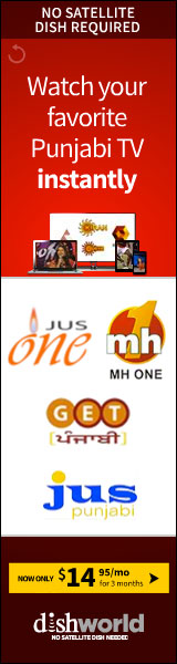 Watch your favorite Punjabi TV Instantly