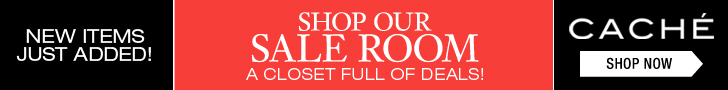 """Cache Winter Sale - 25% off Clearance Styles"""" border="""