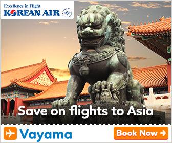 Vayama - Great deals with Korean Air