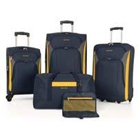 Nautica Open Seas 5 Piece Luggage Set