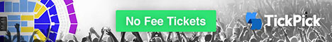 No Fee Tickets Green 468x60