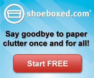 Declutter with Shoeboxed!