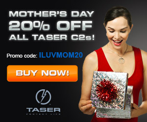 Save 20% on TASER C2's
