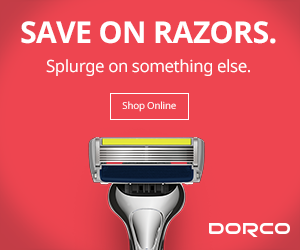 Dorco: Save on Razors. Splurge on something else.