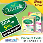 Culturelle Specials - Additional 5% Off on all orders