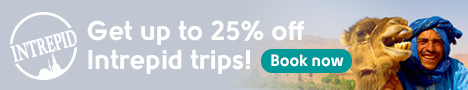 Intrepid Travel 25% off