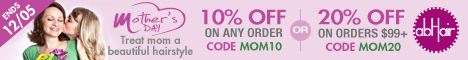 Mother's Day sale. Extra up to 20% off +FS.