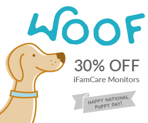 iFamCare Puppy Day Discount 30% off