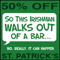 St. Patrick's Day T-shirt Sale