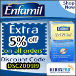 Enfamil Specials - Additional 5% Off on all orders
