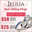 Jeulia Jewelry Sale, $25-$50 Off Coupon