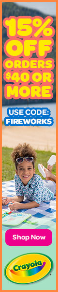 15% Off $40+ with FIREWORKS