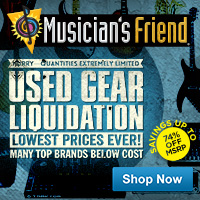 Save 15% off Top-Selling Accessories at Musician's Friend