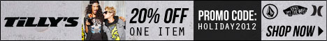 20% Off 1 Item Code HOLIDAY2012