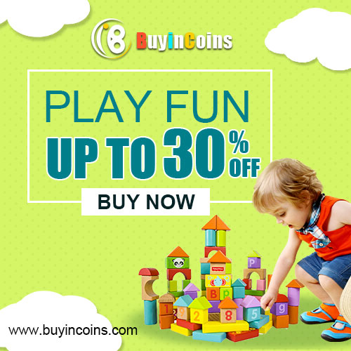 Up to 30% off with Toys !Play Fun with your Kids!