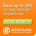 Up to 25% off G Adventures