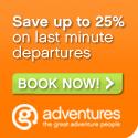 Up to 25% off GAP Adventures