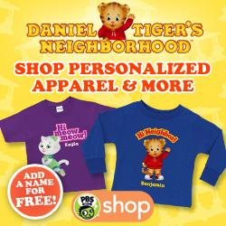PBS KIDS Daniel Tiger's Neighborhood Shop