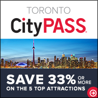 Save up to 42% or more on Toronto's 5 best attractions at CityPASS.com - Shop Now!