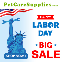 Make Labor Day Memories with Your Pet! 12% Extra Off + Free Shipping. Use Coupon: LABOR12