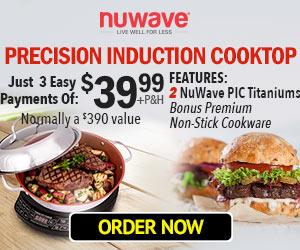 NuWave PIC Titanium Induction Cooktop