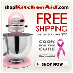 Pink Cook For  The Cure at shopKitchenAid.com! Fre