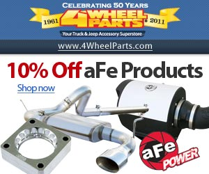 10% Off aFe Products