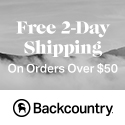 Free 2-Day Shipping at Backcountry.com