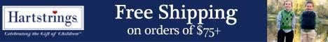 Free Shipping over $75 at Hartstrings.com!