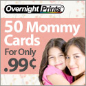 Mommy Cards - Great for Parents On the Go!