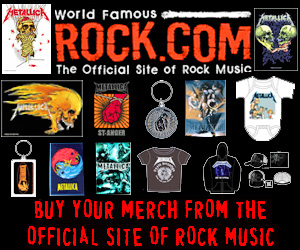 Get Metallica T-Shirts & Merch from Rock.com