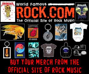 Get Metallica T-Shirts & Merch from Rock.com