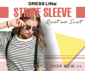stylish Stripe sleeve, up to 82% off.