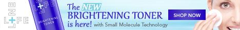 NEW Brightening Toner with Molecular Technology