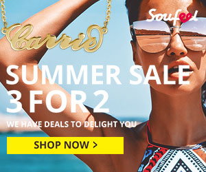 Soufeel Summer Sale, 925 Sterling Silver Custom Jewelries 3 for 2 Sale!  Shop now at Soufeel