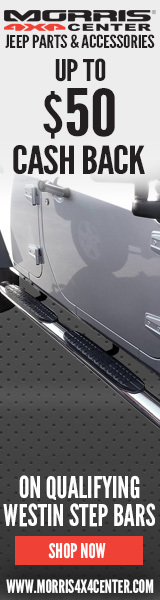 Purchase qualifying WESTIN AUTOMOTIVE Step Bars and GET UP TO $50 Back