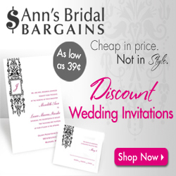 39¢ Wedding Invitations