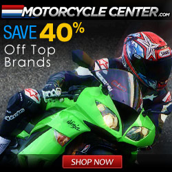 MotorcycleCenter.com <http://MotorcycleCenter.com>  - Save 40% on top brands!