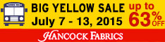 234x60 Outdoor Fabric Sale - Ends April 29th