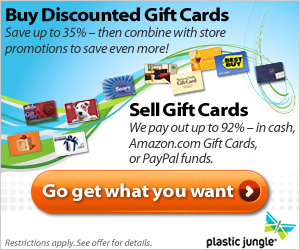 Holiday banner - Buy discounted gift cards...