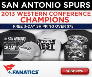 Shop for Spurs 2013 Conference Champions Merchandise at Fanatics