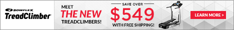 Bowflex TreadClimber Save over $500 includes free shipping
