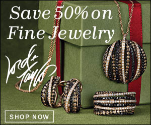 Shop Lord & Taylor's Last Minute Gift Sale! Save 50% on All Fine Jewelry! Valid 12/20/13-12/24/13.