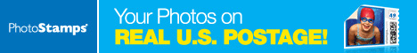 Stamps - Your Photos on Real U.S. Postage