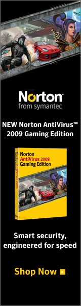 NEW Norton AntiVirus™ 2009 Gaming Edition