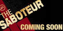 Coming soon - The Saboteur