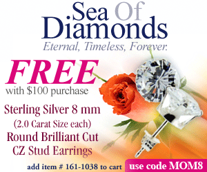 Get #161-1038 FREE w/$100 purchase and code MOM8
